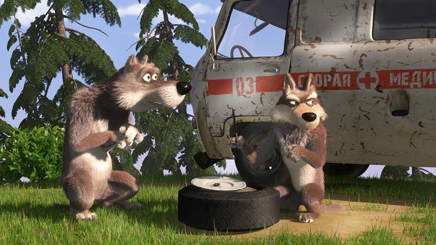 Волки-из-мультика-Маша-и-медведь---картинки-и-изображения-1