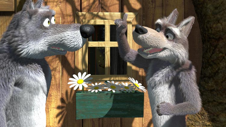 Волки-из-мультика-Маша-и-медведь---картинки-и-изображения-14