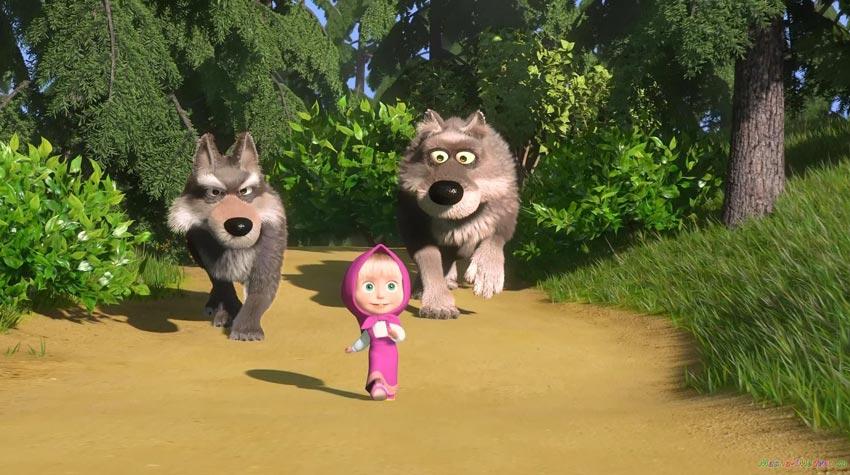 Волки-из-мультика-Маша-и-медведь---картинки-и-изображения-7