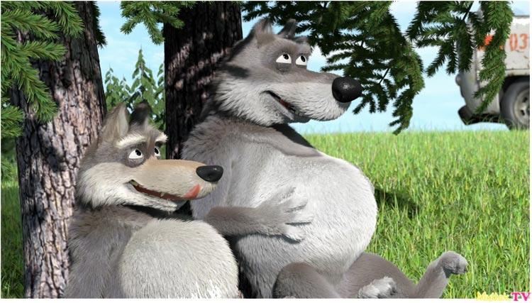 Волки-из-мультика-Маша-и-медведь---картинки-и-изображения-9