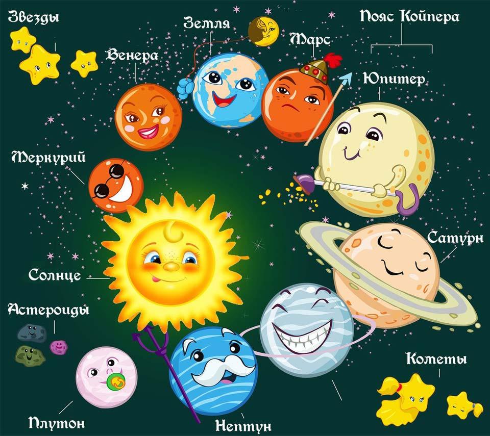 Детские-картинки-на-тему-космос---красивые,-интересные-и-захватывающие-2