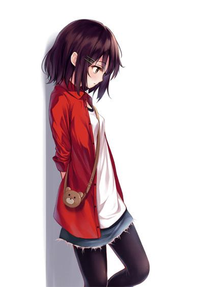 Картинки аниме арты девушек - очень прикольные и клевые 4