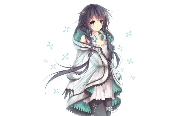 Картинки аниме арты девушек - очень прикольные и клевые 5