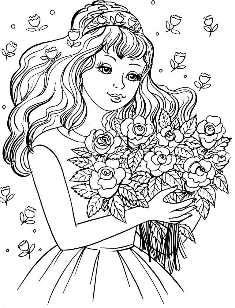 Прикольные-картинки-для-раскраски-для-девочек---распечатать-рисунки-2