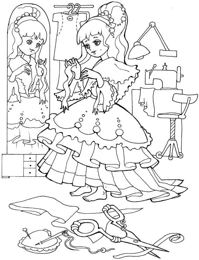 Прикольные-картинки-для-раскраски-для-девочек---распечатать-рисунки-6