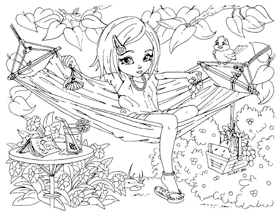 Прикольные-картинки-для-раскраски-для-девочек---распечатать-рисунки-9