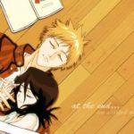 Ичиго Куросаки и Рукия Кучики - красивые картинки из аниме Блич 9