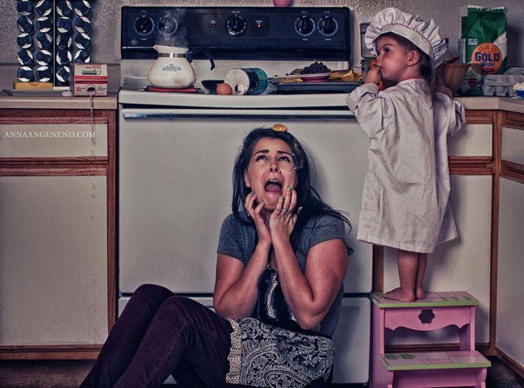 Смешные картинки про мам и матерей - прикольная подборка 8