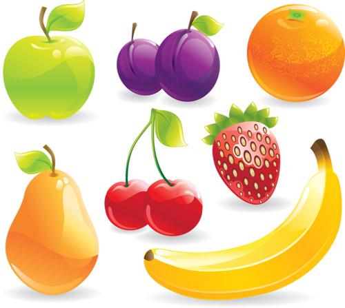 Цветные овощи и фрукты картинки для детей - красивые и прикольные 1