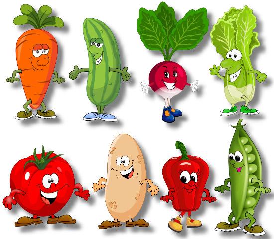 Цветные овощи и фрукты картинки для детей - красивые и прикольные 13