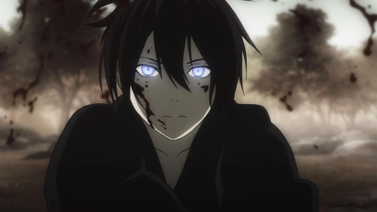 Самые прикольные и классные картинки из аниме Бездомный Бог 17