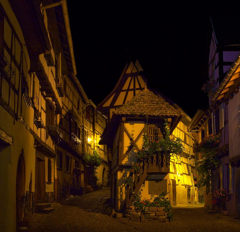 Красивые картинки ночных городов - подборка 20 фото 1