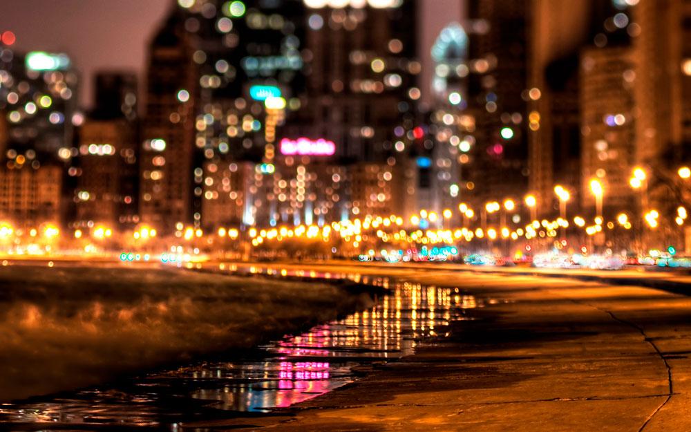 Красивые картинки ночных городов - подборка 20 фото 4