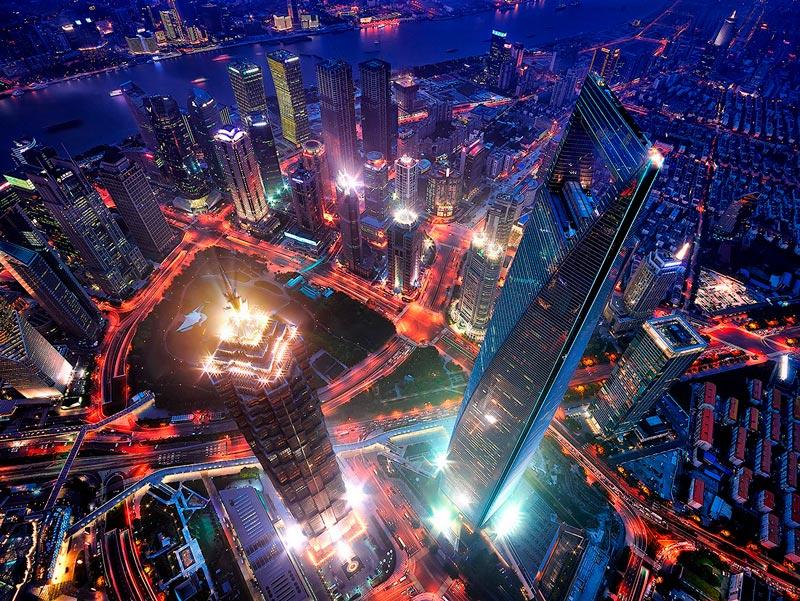 Красивые картинки ночных городов - подборка 20 фото 3
