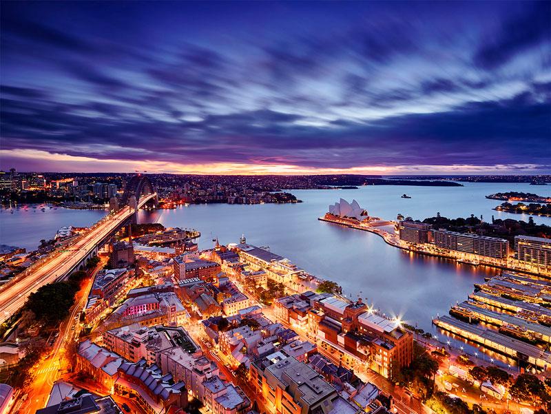 Красивые картинки ночных городов - подборка 20 фото 2