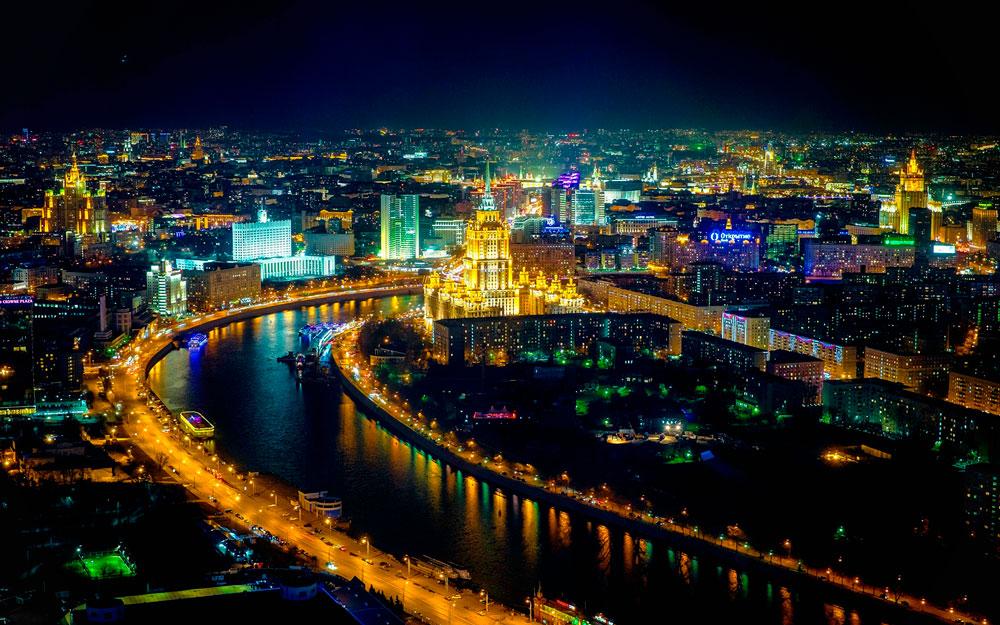 Красивые картинки ночных городов - подборка 20 фото 10