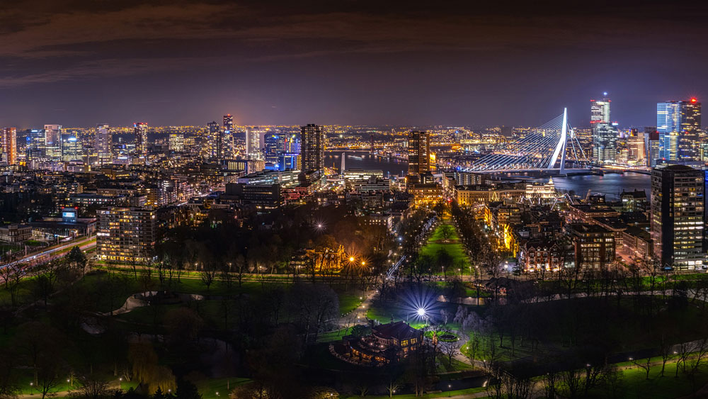 Красивые картинки ночных городов - подборка 20 фото 11