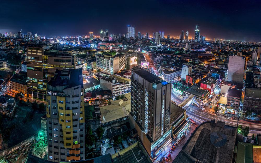 Красивые картинки ночных городов - подборка 20 фото 15