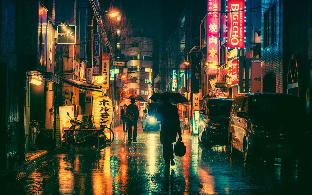 Красивые картинки ночных городов - подборка 20 фото 16