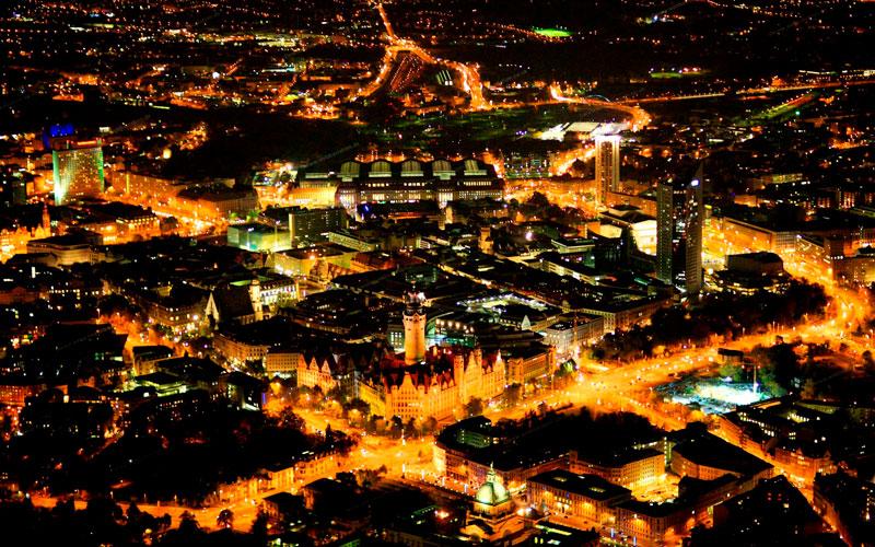 Красивые картинки ночных городов - подборка 20 фото 9