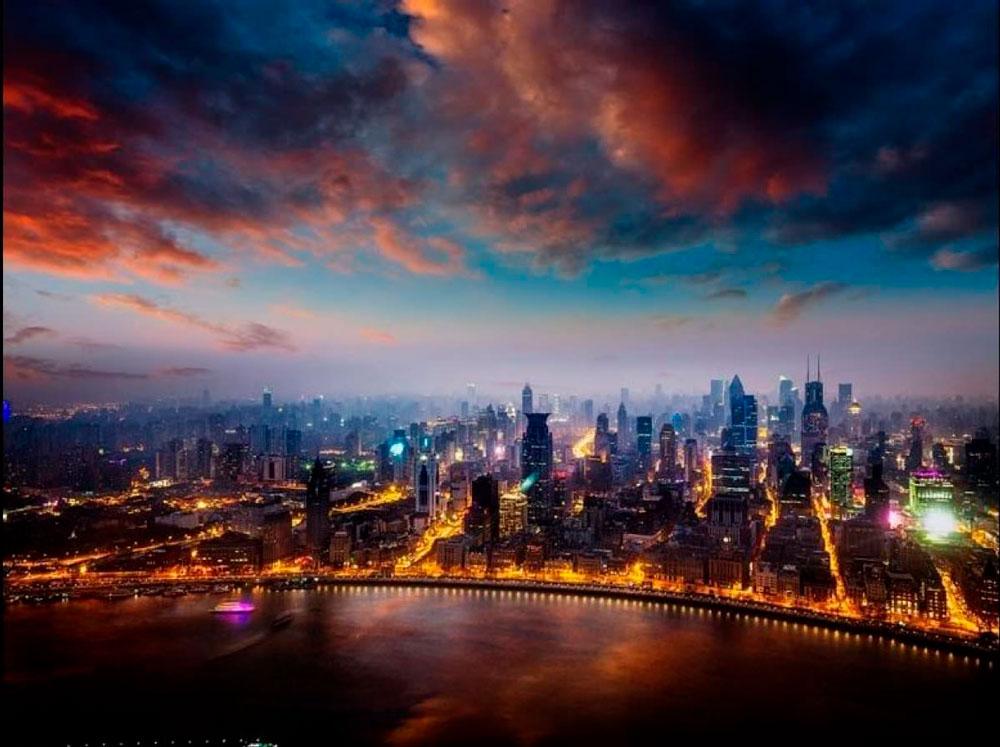 Красивые картинки ночных городов - подборка 20 фото 12