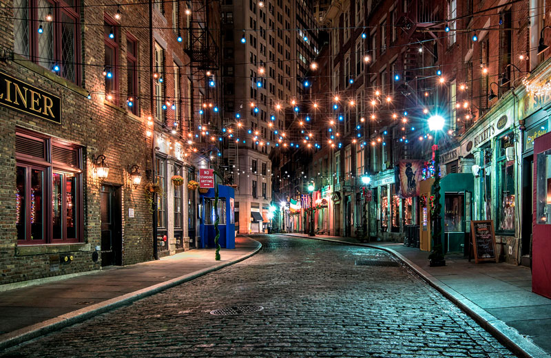 Красивые картинки ночных городов - подборка 20 фото 13