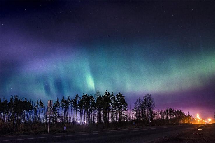 Где и когда можно увидеть северное сияние 1