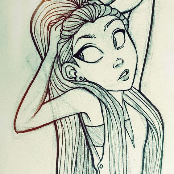 Скачать картинки для срисовки для девочек - прикольная подборка 16