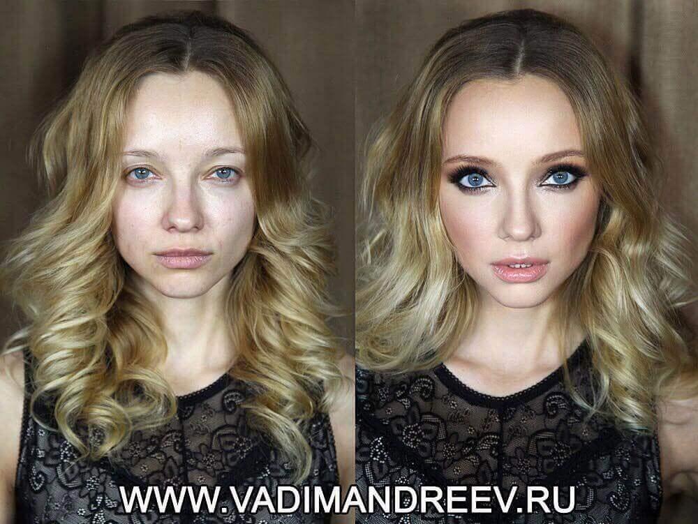 Картинки и фото Девушки с косметикой и без - подборка 13