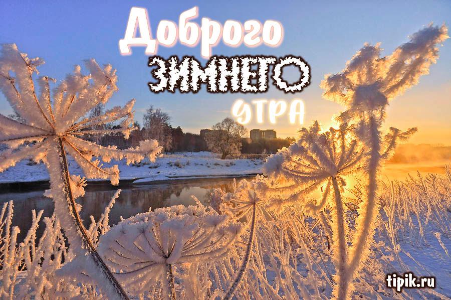 Скачать картинки с добрым утром зимы - самые красивые 2