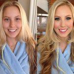 Картинки и фото Девушки с косметикой и без - подборка 3