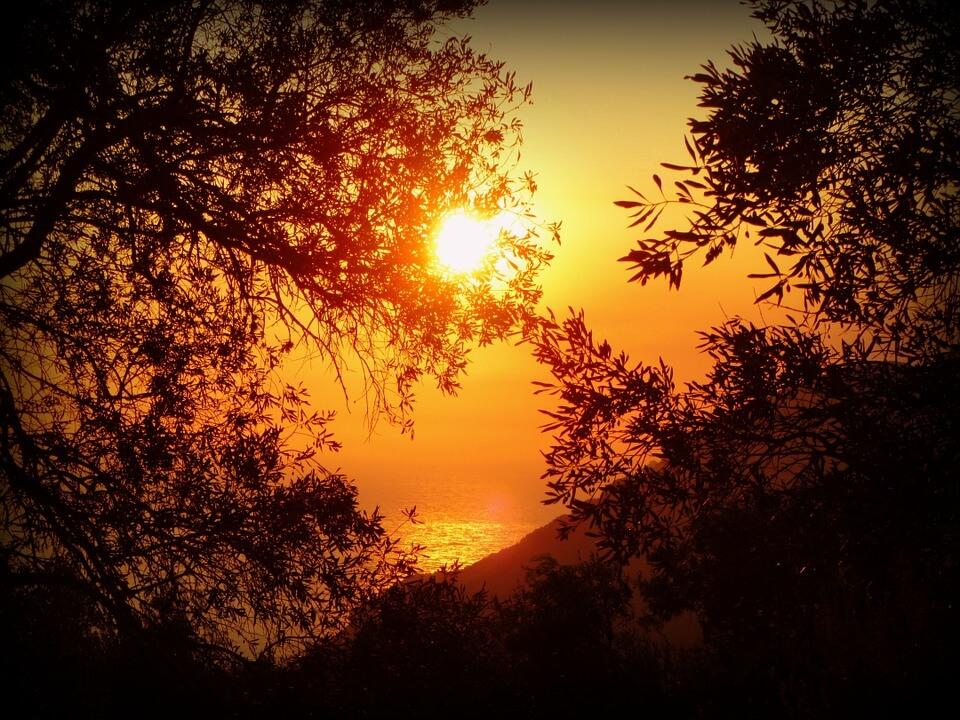 Красивые картинки заката Солнца - самые восхитительные 8