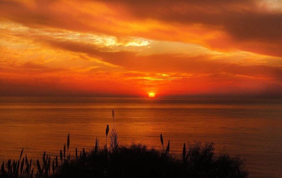 Красивые картинки заката Солнца - самые восхитительные 14
