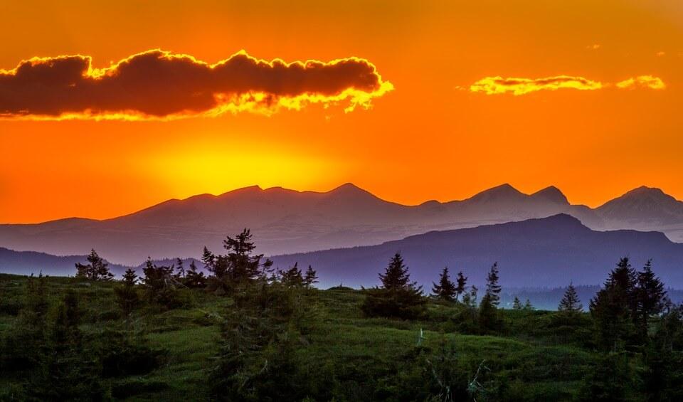 Красивые картинки заката Солнца - самые восхитительные 15