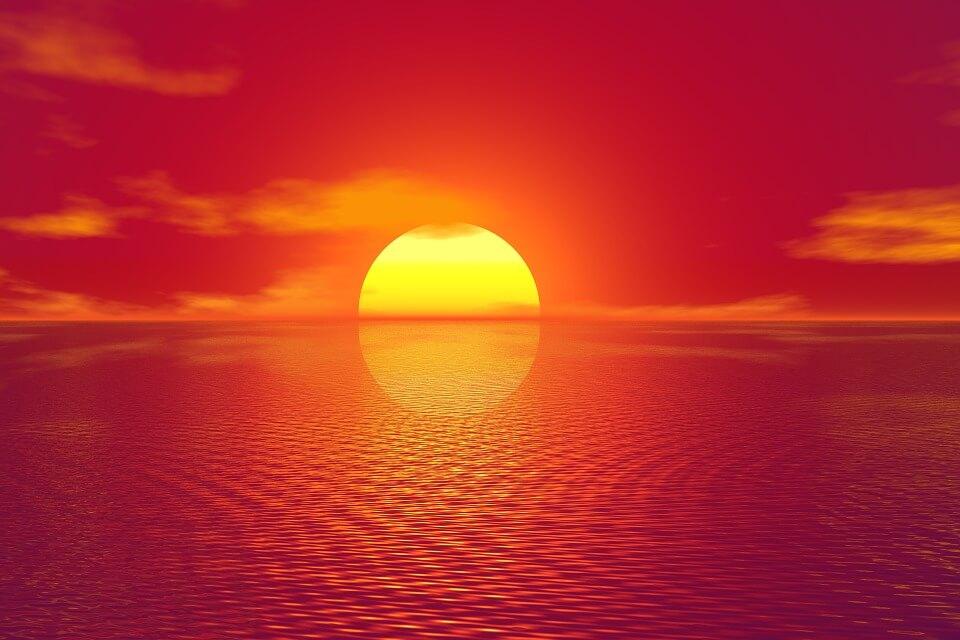 Красивые картинки заката Солнца - самые восхитительные 10