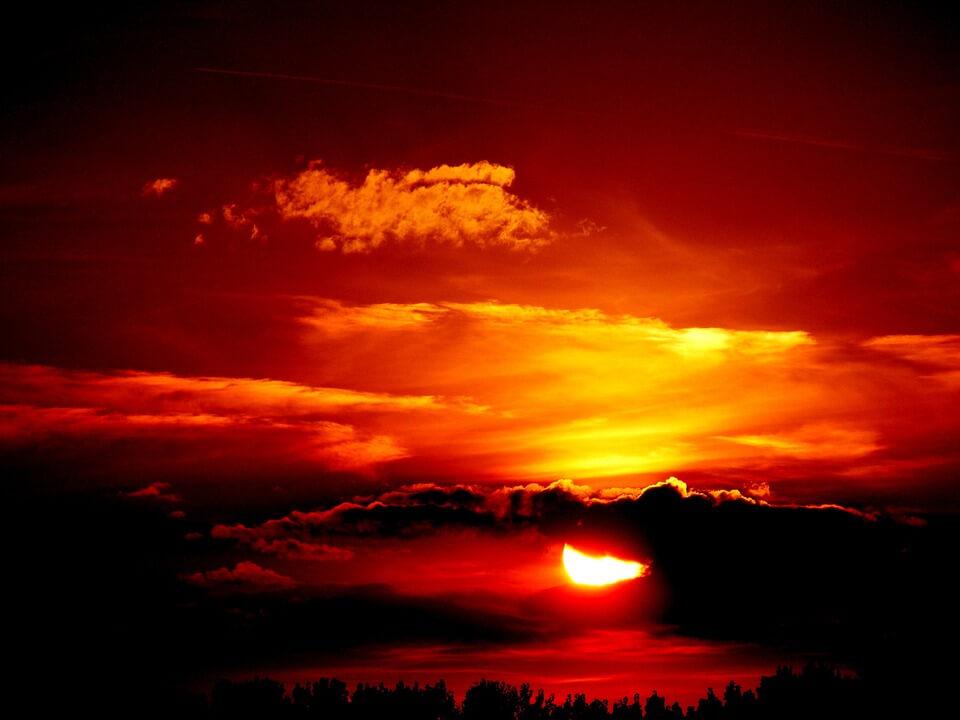 Красивые картинки заката Солнца - самые восхитительные 11