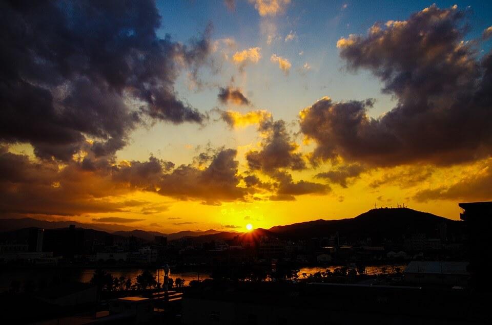 Красивые картинки заката Солнца - самые восхитительные 13