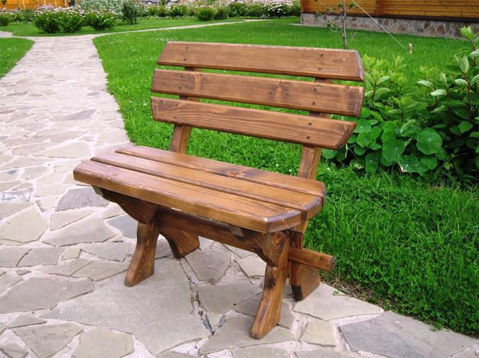 Садовая скамейка своими руками - из какого материала делать 1