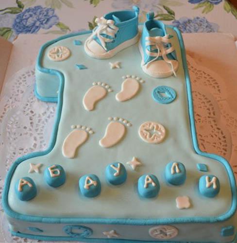 Торт на первый День Рождения, каким он должен быть 1