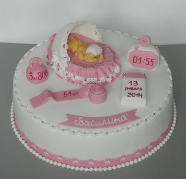 Торт на первый День Рождения, каким он должен быть 2