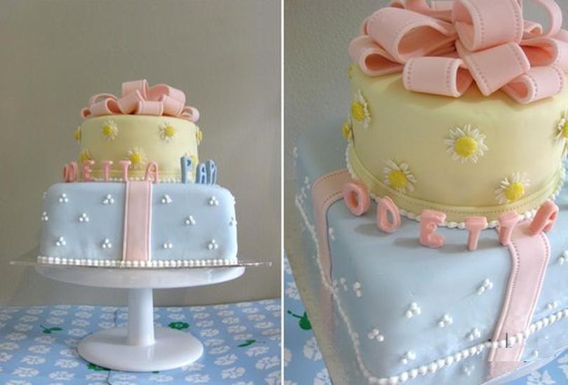 Торт на первый День Рождения, каким он должен быть 4