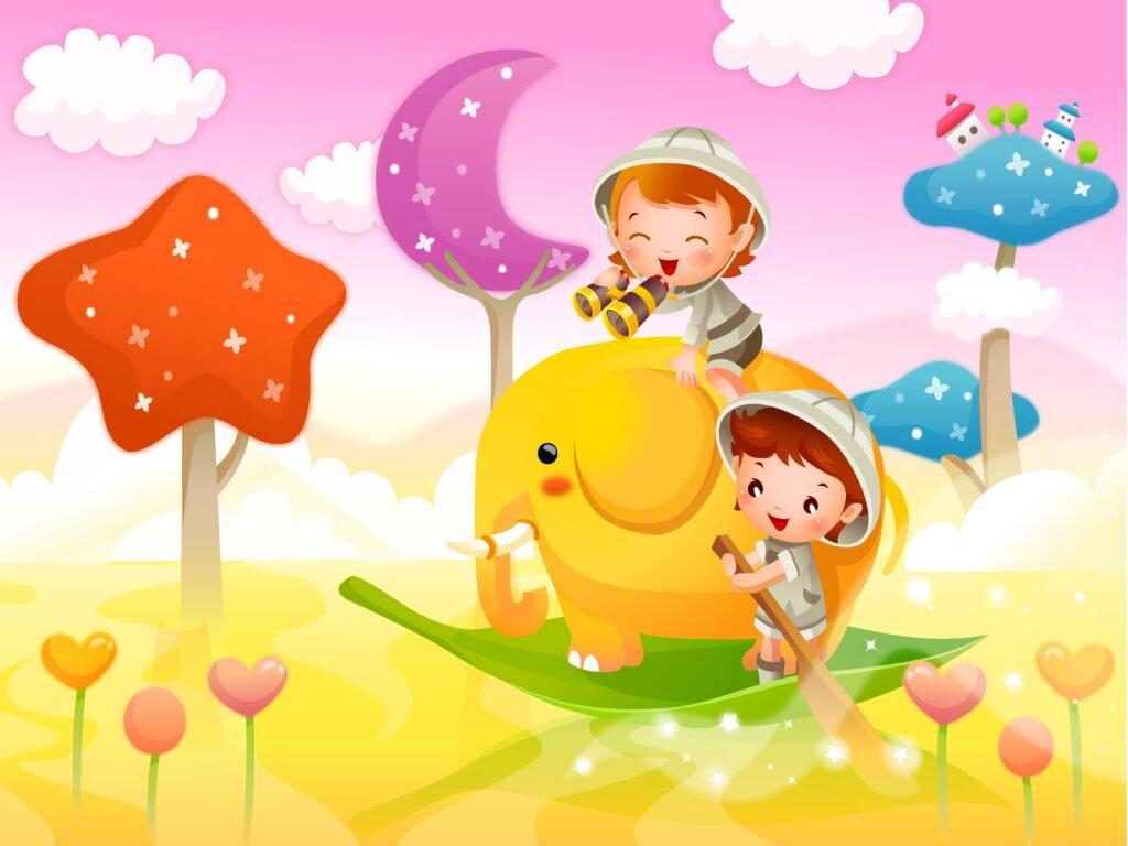 Картинки про детей в детском саду - рисунки, арты 9