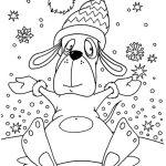 Лучшие новогодние картинки для детей для срисовки - подборка 4