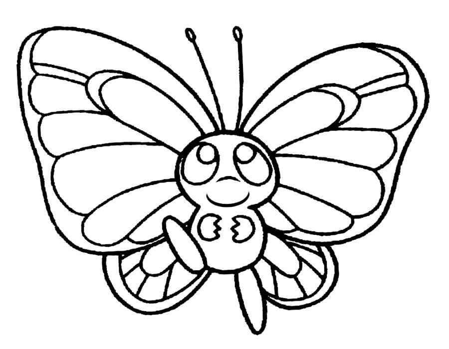 Красивые рисунки, картинки бабочки для детей - коллекция 4