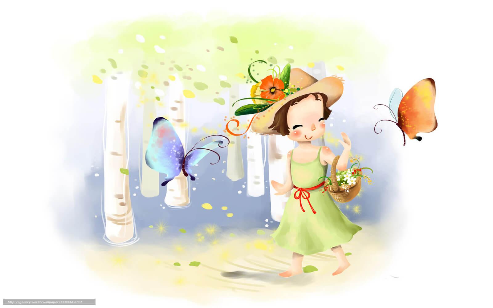 Картинки про детей в детском саду - рисунки, арты 4