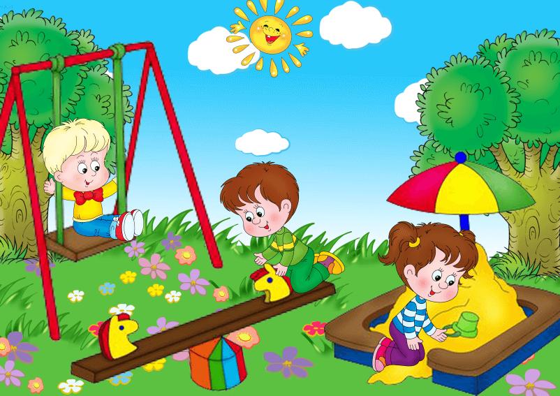 Картинки про детей в детском саду - рисунки, арты 1