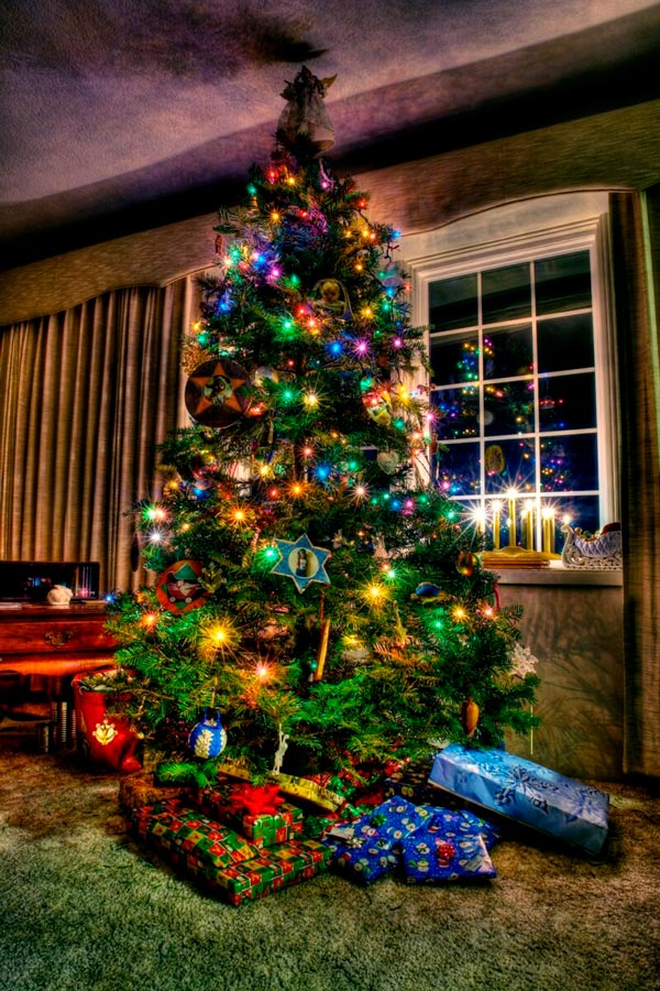 Прикольные и смешные картинки про новогоднюю елку - подборка 7