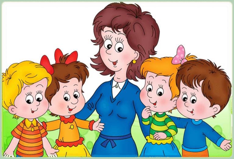 Картинки про детей в детском саду - рисунки, арты 12