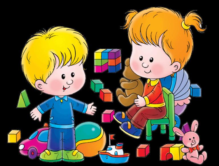 Картинки про детей в детском саду - рисунки, арты 10