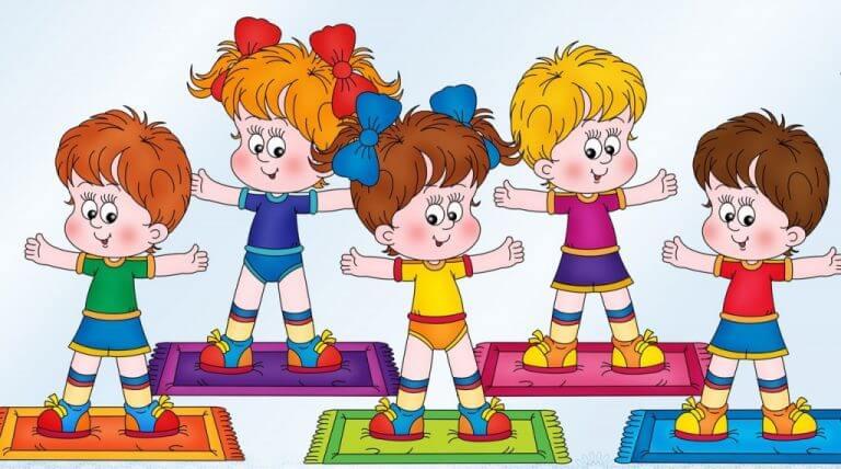 Картинки про детей в детском саду - рисунки, арты 11